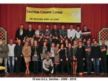 Groupe coureurs soirée SCL 10 ans