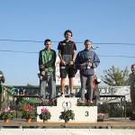 Le podium de la Dohinoise 2011